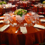 Table setting at the 2013 Norman Mailer Center Benefit at the New York Public Library in New York City. Photo by Lynn McCary Events.