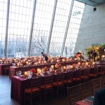 The Temple of Dendur in The Sackler Wing, The Metropolitan Museum of Art, set for the American University of Beirut's dinner on March 19, 2015. Photo by Lynn McCary Events.